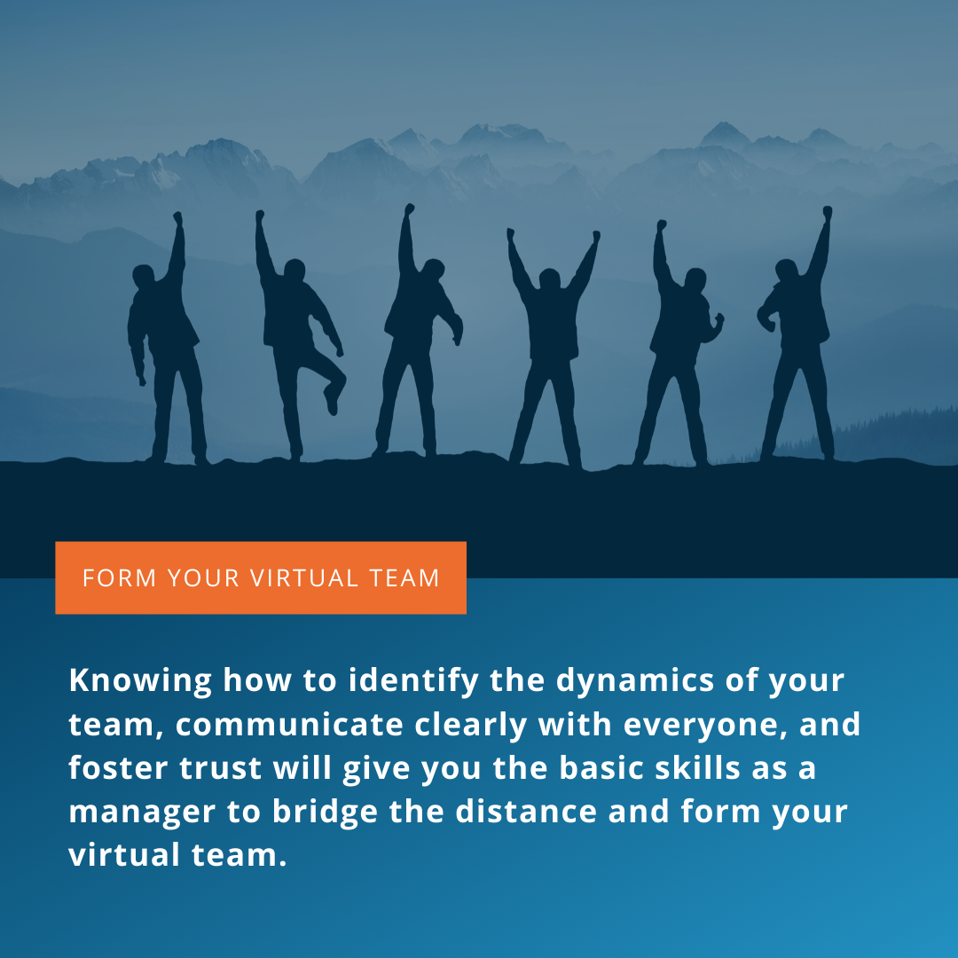 Form your virtual team
