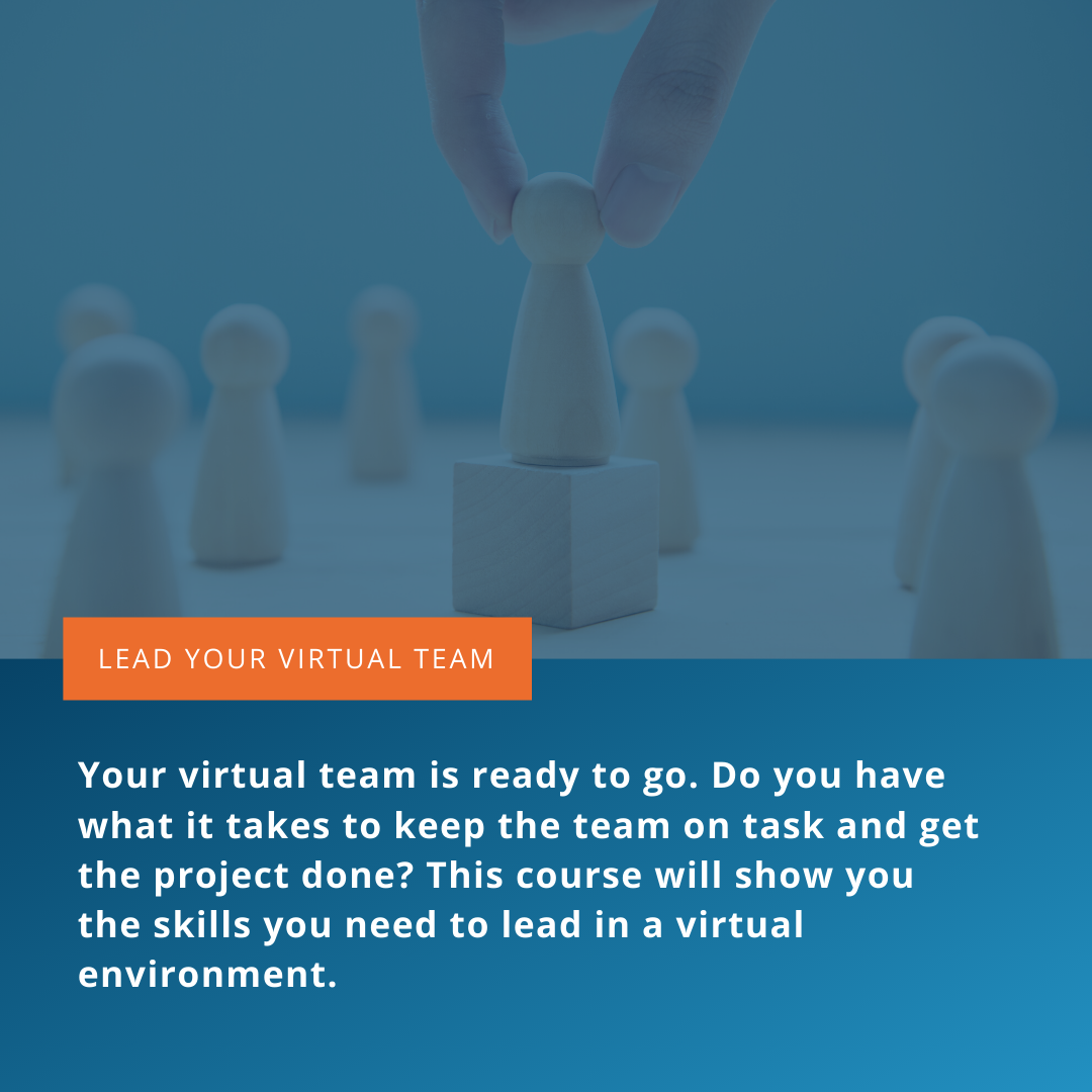 Lead your virtual team
