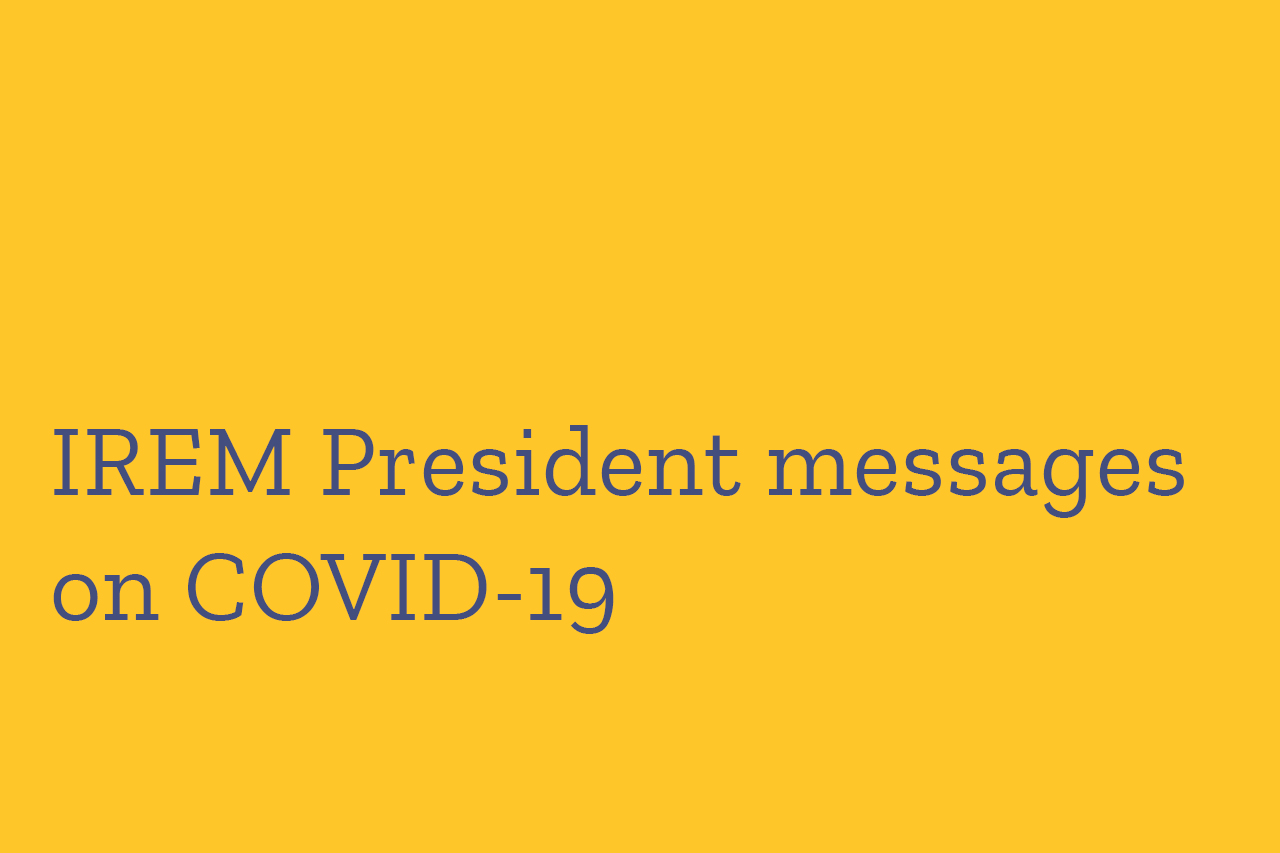 Presidents Messages