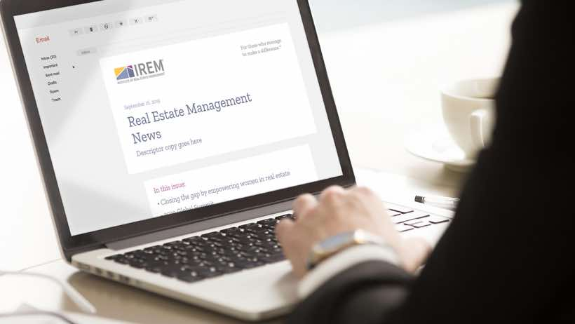 IREM News - property manager association for professors