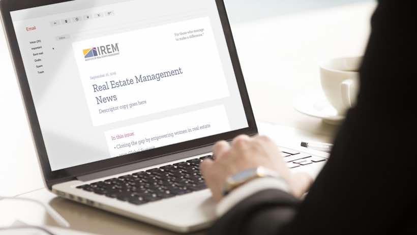 IREM News - property manager association for professors