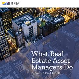 What Real Estate Asset Managers Do