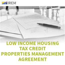 Sample Low Income Housing Tax Credit Properties Management Agreement