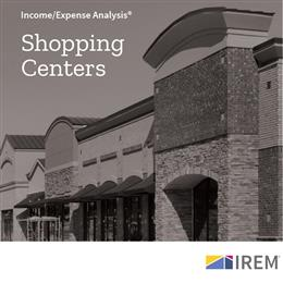 Income/Expense Analysis: Shopping Centers (2019)