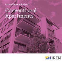 Income/Expense Analysis: Conventional Apartments