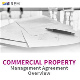 Sample Commercial Property Management Agreement