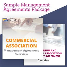 Sample Management Agreements Package